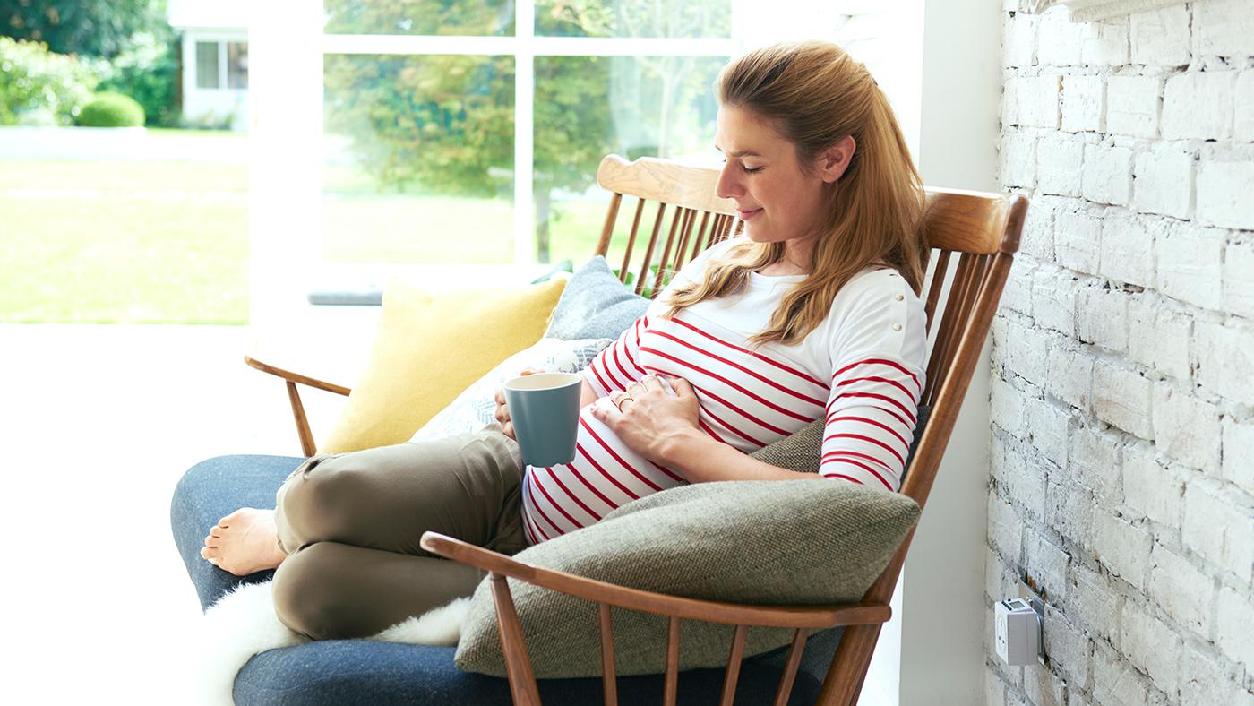 bryster gravid